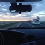 Unieke ploegentijdrit Houtribdijk