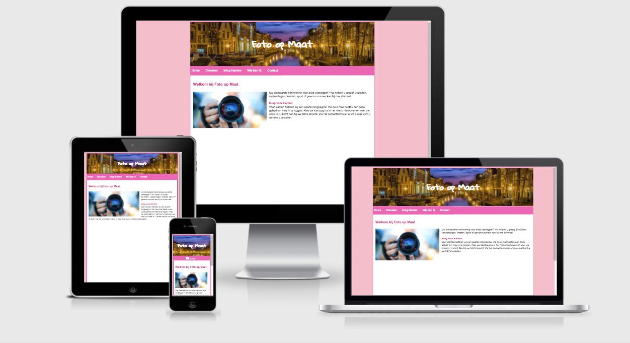 Website Foto op Maat